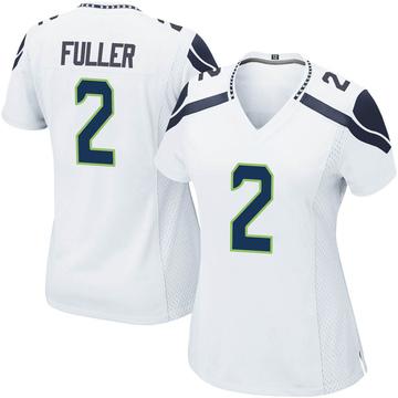 Women's Nike Seattle Seahawks Aaron Fuller White Jersey - Game