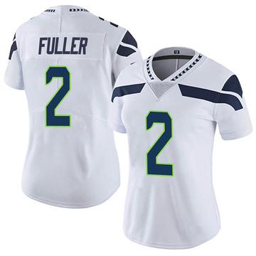 Women's Nike Seattle Seahawks Aaron Fuller White Vapor Untouchable Jersey - Limited