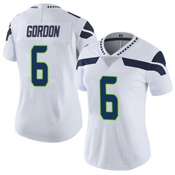 Women's Nike Seattle Seahawks Anthony Gordon White Vapor Untouchable Jersey - Limited