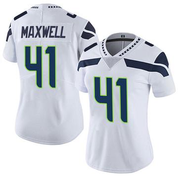 Women's Nike Seattle Seahawks Byron Maxwell White Vapor Untouchable Jersey - Limited