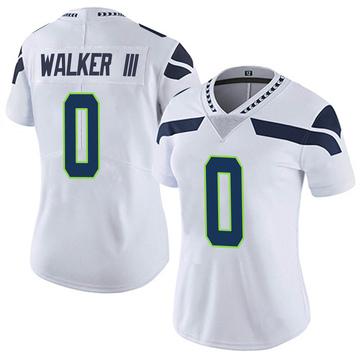 Women's Nike Seattle Seahawks D'Andre Walker White Vapor Untouchable Jersey - Limited