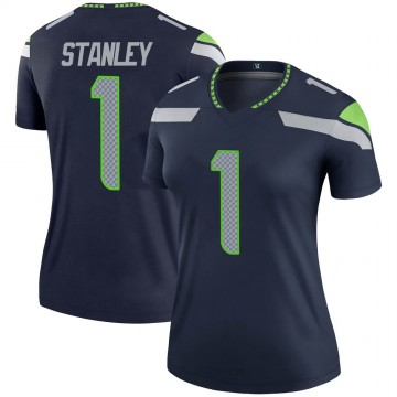 Women's Nike Seattle Seahawks Jayson Stanley Navy Jersey - Legend