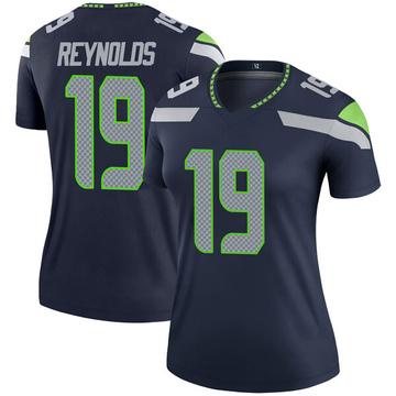Women's Nike Seattle Seahawks Keenan Reynolds Navy Jersey - Legend