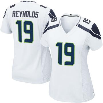 Women's Nike Seattle Seahawks Keenan Reynolds White Jersey - Game