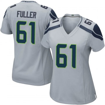 Women's Nike Seattle Seahawks Kyle Fuller Gray Alternate Jersey - Game