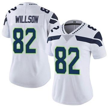 Women's Nike Seattle Seahawks Luke Willson White Vapor Untouchable Jersey - Limited