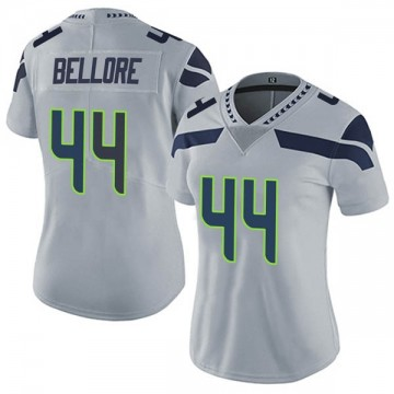 Women's Nike Seattle Seahawks Nick Bellore Gray Alternate Vapor Untouchable Jersey - Limited