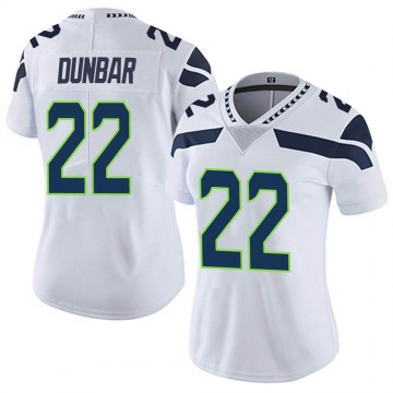 Women's Nike Seattle Seahawks Quinton Dunbar White Vapor Untouchable Jersey - Limited