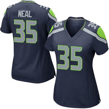 Women's Nike Seattle Seahawks Ryan Neal Navy Team Color Jersey - Game