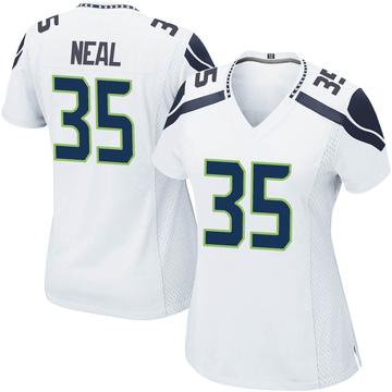 Women's Nike Seattle Seahawks Ryan Neal White Jersey - Game