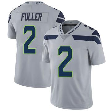 Youth Nike Seattle Seahawks Aaron Fuller Gray Alternate Vapor Untouchable Jersey - Limited