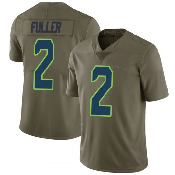 Youth Nike Seattle Seahawks Aaron Fuller Green 2017 Salute to Service Jersey - Limited