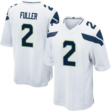 Youth Nike Seattle Seahawks Aaron Fuller White Jersey - Game