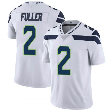 Youth Nike Seattle Seahawks Aaron Fuller White Vapor Untouchable Jersey - Limited