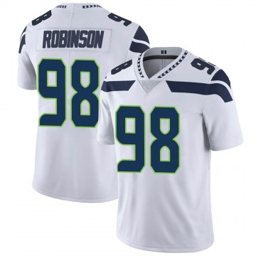 Youth Nike Seattle Seahawks Alton Robinson White Vapor Untouchable Jersey - Limited