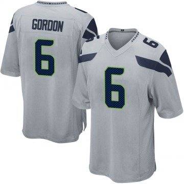 Youth Nike Seattle Seahawks Anthony Gordon Gray Alternate Jersey - Game