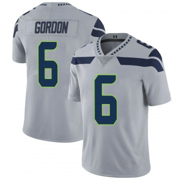 Youth Nike Seattle Seahawks Anthony Gordon Gray Alternate Vapor Untouchable Jersey - Limited