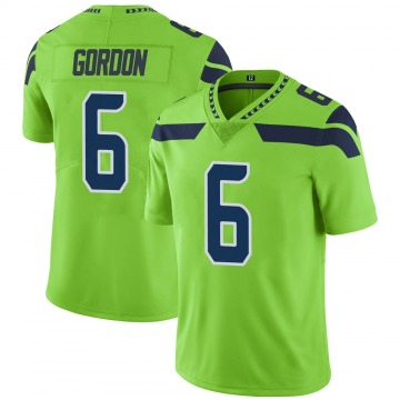 Youth Nike Seattle Seahawks Anthony Gordon Green Color Rush Neon Jersey - Limited