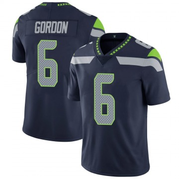 Youth Nike Seattle Seahawks Anthony Gordon Navy 100th Vapor Jersey - Limited