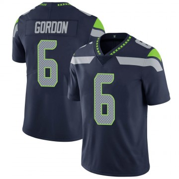 Youth Nike Seattle Seahawks Anthony Gordon Navy Team Color Vapor Untouchable Jersey - Limited