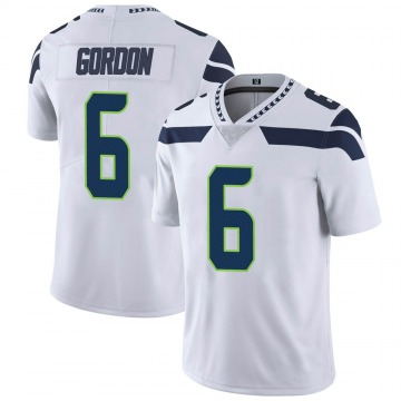 Youth Nike Seattle Seahawks Anthony Gordon White Vapor Untouchable Jersey - Limited