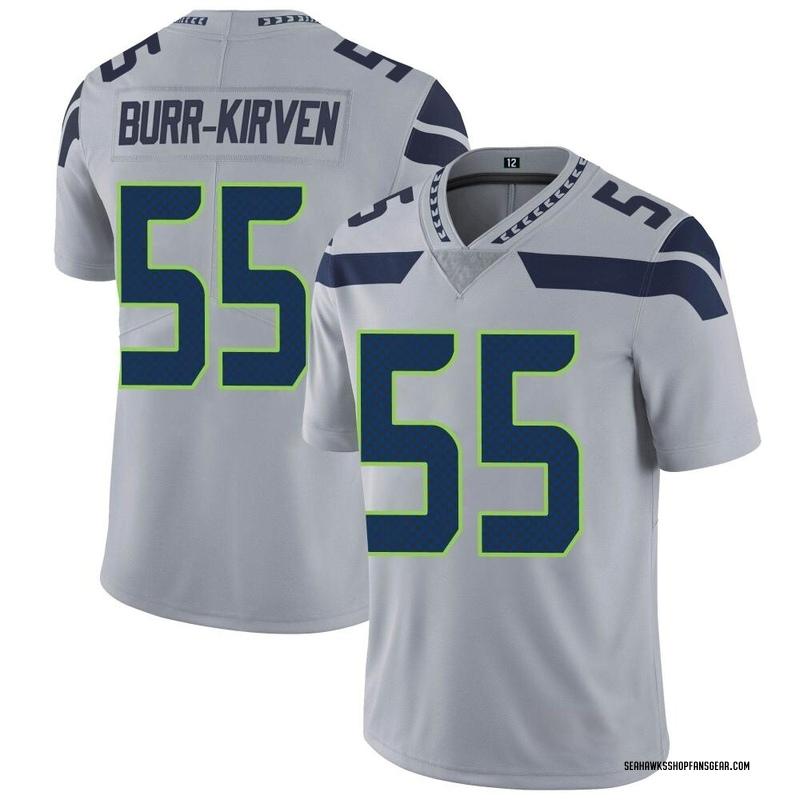 various colors 528c5 3c4b8 Youth Nike Seattle Seahawks Ben Burr-Kirven Gray Alternate Vapor  Untouchable Jersey - Limited