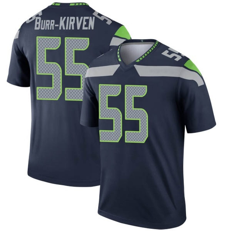 uk availability 39c03 554b2 Youth Nike Seattle Seahawks Ben Burr-Kirven Navy Jersey - Legend