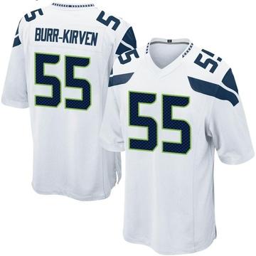 Youth Nike Seattle Seahawks Ben Burr-Kirven White Jersey - Game