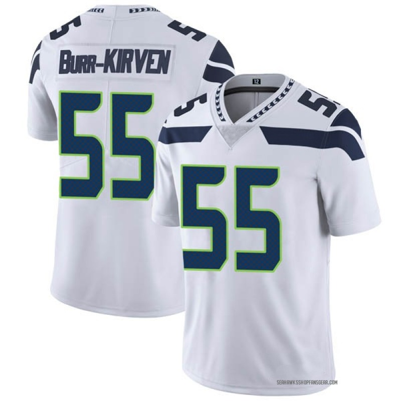 check out fd136 57bcb Youth Nike Seattle Seahawks Ben Burr-Kirven White Vapor Untouchable Jersey  - Limited