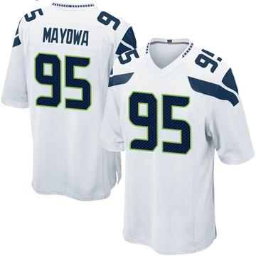 Youth Nike Seattle Seahawks Benson Mayowa White Jersey - Game