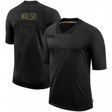 Youth Nike Seattle Seahawks Blair Walsh Black 2020 Salute To Service Jersey - Limited