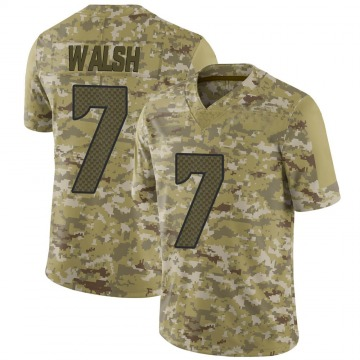 Youth Nike Seattle Seahawks Blair Walsh Camo 2018 Salute to Service Jersey - Limited