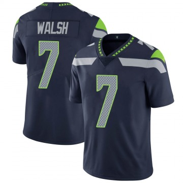 Youth Nike Seattle Seahawks Blair Walsh Navy Team Color Vapor Untouchable Jersey - Limited