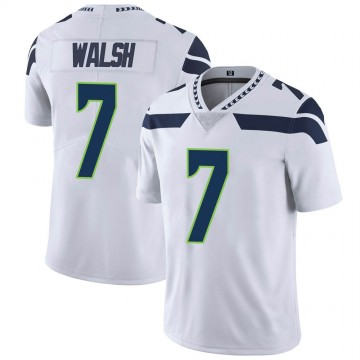 Youth Nike Seattle Seahawks Blair Walsh White Vapor Untouchable Jersey - Limited