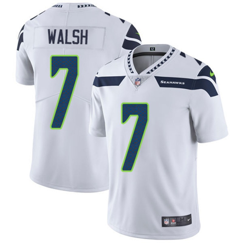 info for 82f1d 3d094 Youth Nike Seattle Seahawks Blair Walsh White Vapor Untouchable Player  Jersey - Limited