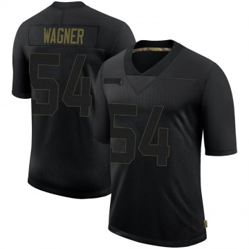 Youth Nike Seattle Seahawks Bobby Wagner Black 2020 Salute To Service Jersey - Limited