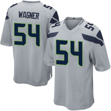 Youth Nike Seattle Seahawks Bobby Wagner Gray Alternate Jersey - Game