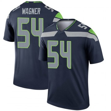 Youth Nike Seattle Seahawks Bobby Wagner Navy Jersey - Legend
