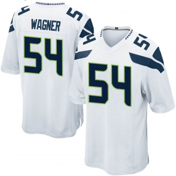 Youth Nike Seattle Seahawks Bobby Wagner White Jersey - Game