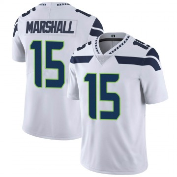 Youth Nike Seattle Seahawks Brandon Marshall White Vapor Untouchable Jersey - Limited