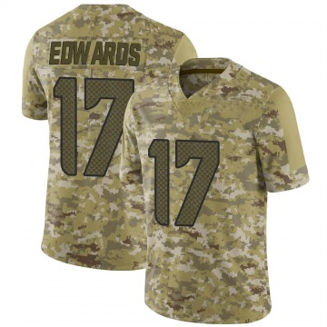 Youth Nike Seattle Seahawks Braylon Edwards Camo 2018 Salute to Service Jersey - Limited