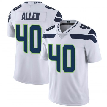 Youth Nike Seattle Seahawks Brian Allen White Vapor Untouchable Jersey - Limited