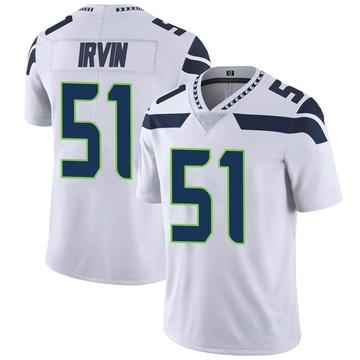 Youth Nike Seattle Seahawks Bruce Irvin White Vapor Untouchable Jersey - Limited
