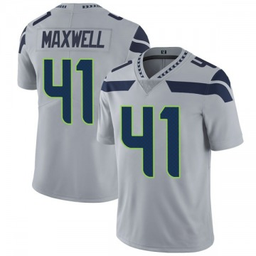 Youth Nike Seattle Seahawks Byron Maxwell Gray Alternate Vapor Untouchable Jersey - Limited