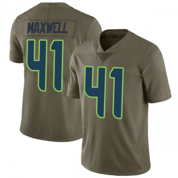 Youth Nike Seattle Seahawks Byron Maxwell Green 2017 Salute to Service Jersey - Limited