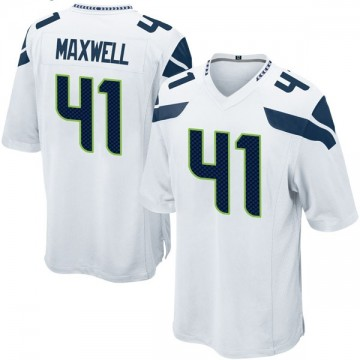 Youth Nike Seattle Seahawks Byron Maxwell White Jersey - Game