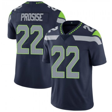 Youth Nike Seattle Seahawks C.J. Prosise Navy 100th Vapor Jersey - Limited
