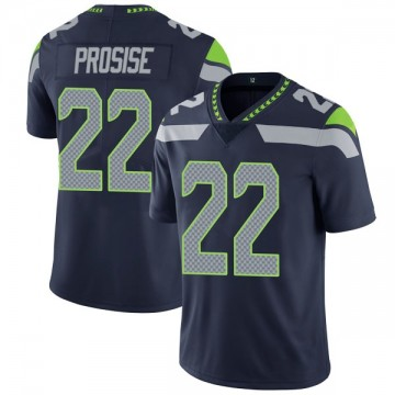 Youth Nike Seattle Seahawks C.J. Prosise Navy Team Color Vapor Untouchable Jersey - Limited