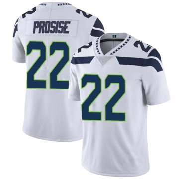 Youth Nike Seattle Seahawks C.J. Prosise White Vapor Untouchable Jersey - Limited