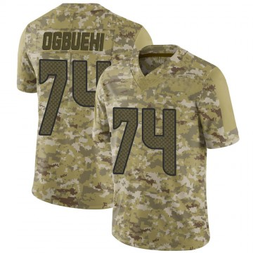 Youth Nike Seattle Seahawks Cedric Ogbuehi Camo 2018 Salute to Service Jersey - Limited